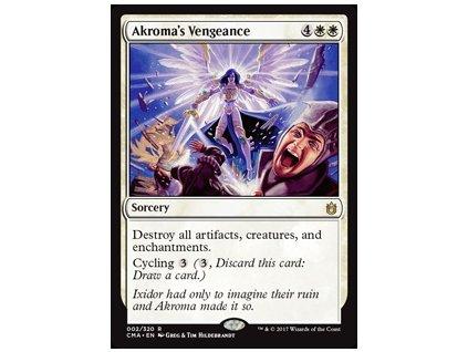 Akroma's Vengeance (Foil NE, Stav Near Mint)