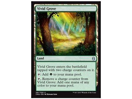 Vivid Grove (Foil NE, Stav Near Mint)