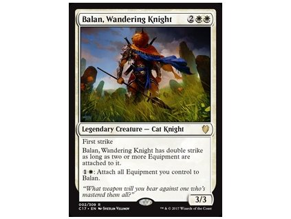 Balan, Wandering Knight (Foil NE, Stav Near Mint)