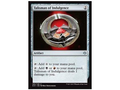 Talisman of Indulgence (Foil NE, Stav Near Mint)