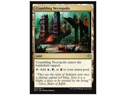 Crumbling Necropolis (Foil NE, Stav Near Mint)