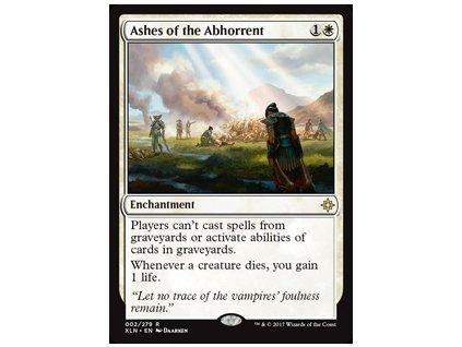 Ashes of the Abhorrent (Foil NE, Stav Near Mint)