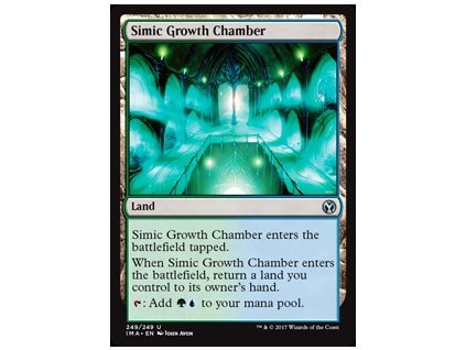 Simic Growth Chamber (Foil NE, Stav Near Mint)