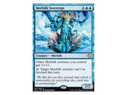 Merfolk Sovereign (Foil NE, Stav Near Mint)