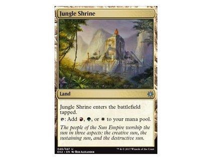 Jungle Shrine (Foil NE, Stav Near Mint)