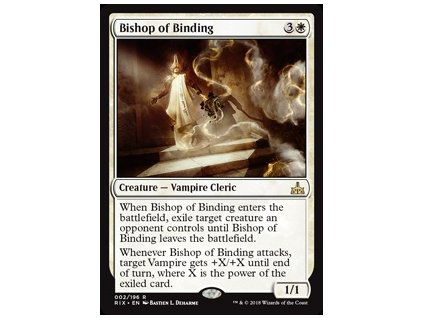 Bishop of Binding (Foil NE, Stav Near Mint)
