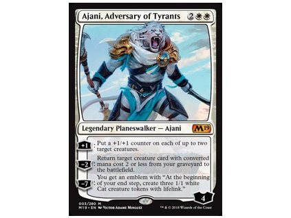 Ajani, Adversary of Tyrants (Foil NE, Stav Near Mint)