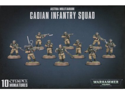 2174 astra militarum cadian infantry squad