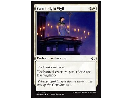 Candlelight Vigil (Foil NE, Stav Near Mint)