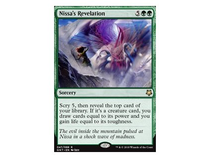 Nissa's Revelation (Foil NE, Stav Near Mint)