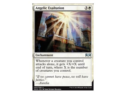 Angelic Exaltation (Foil NE, Stav Near Mint)