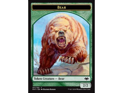 Bear Token (Foil ANO, Stav Near Mint)