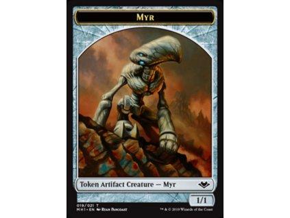 Myr Token (Foil NE, Stav Near Mint)