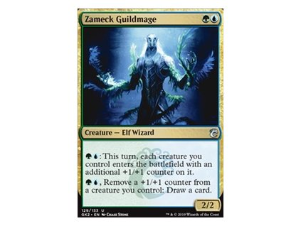 Zameck Guildmage (Foil NE, Stav Near Mint)