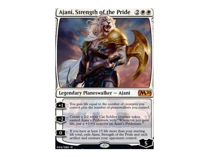 Ajani, Strength of the Pride (Foil NE, Stav Near Mint)