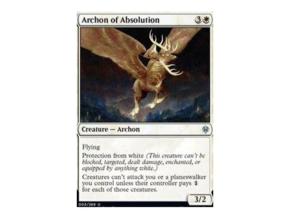Archon of Absolution (Foil NE, Stav Near Mint)