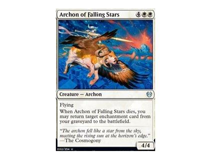 Archon of Falling Stars (Foil NE, Stav Near Mint)