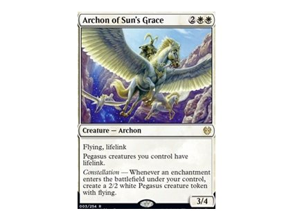 Archon of Sun's Grace (Foil NE, Stav Near Mint)
