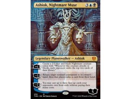 Ashiok, Nightmare Muse - EXTRA FOIL (Foil ANO, Stav Near Mint)