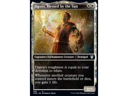 Daxos, Blessed by the Sun – EXTRA FOIL (Foil ANO, Stav Near Mint)