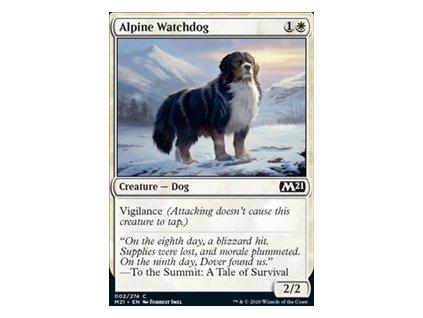 Alpine Watchdog (Foil NE, Stav Near Mint)