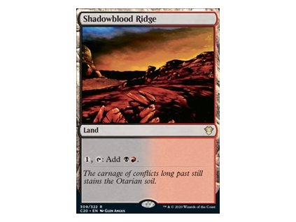 Shadowblood Ridge (Foil NE, Stav Near Mint)