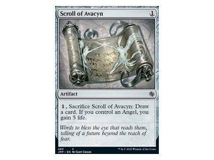Scroll of Avacyn (Foil NE, Stav Near Mint)