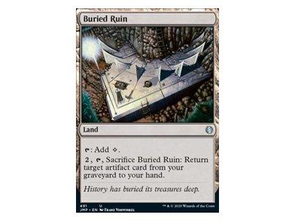 Buried Ruin (Foil NE, Stav Near Mint)