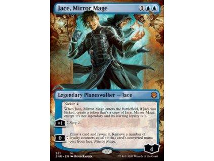 Jace, Mirror Mage - EXTRA (Foil NE, Stav Near Mint)