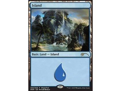 Island - PROMO MagicFest FOIL (Foil NE, Stav Near Mint)