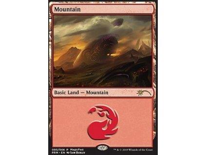 Mountain - PROMO MagicFest FOIL (Foil NE, Stav Near Mint)