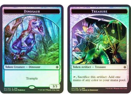 232400 dinosaur treasure token fnm foil