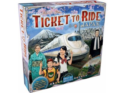ticket to ride map collection 7 japan italy original