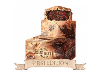 Flesh and Blood TCG - Monarch First Edition Booster Box (24 Decků)
