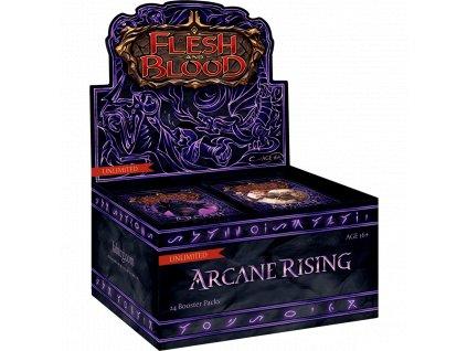 flesh blood arcane rising unlimited booster box