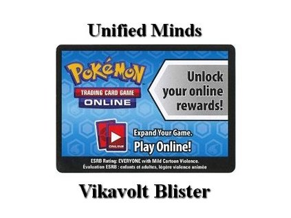 Online Code Card Unified Minds Vikavolt Blister