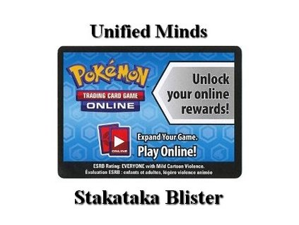 Online Code Card Unified Minds Stakataka Blister