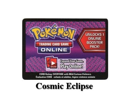 Online Code Card Cosmic Eclipse Booster