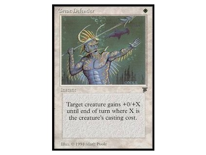 Great Defender (Foil NE, Stav Excelent)