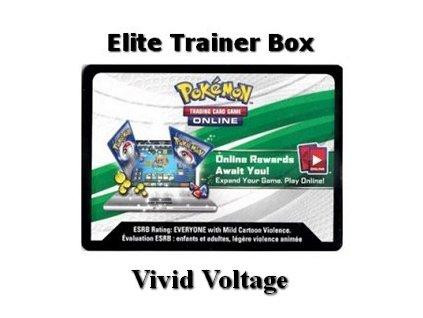 Online Code Card Vivid Voltage Elite Trainer Box