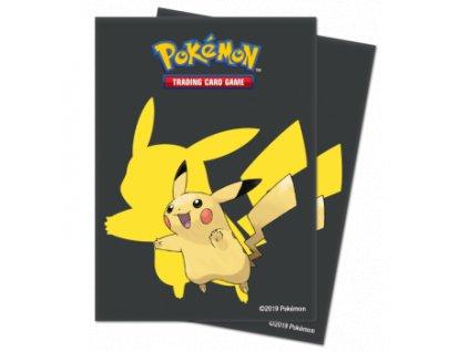 Obaly na karty Pokémon — Pikachu (65 kusů)