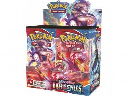 Pokémon Sword & Shield — Battle Styles Booster Display (36 Boosterů)