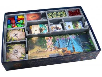 Insert na herní komponenty — Ztracený ostrov Arnak