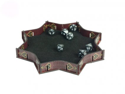 e Raptor Red Explosion Dice Tray 1