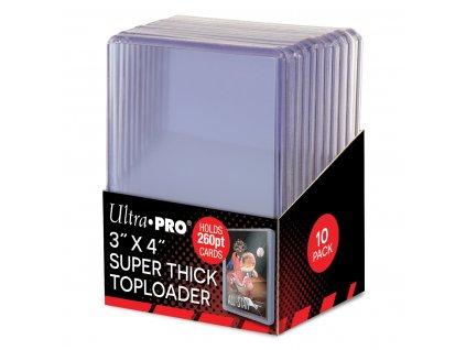 Ultra Pro Super Thick 130pt Toploader - 3'' x 4''  (10 kusů)