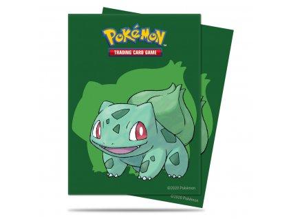 Obaly na karty Pokémon — Bulbasaur (65 kusů)
