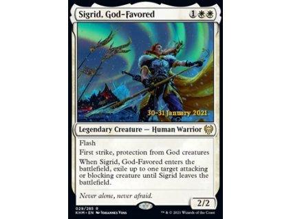 Sigrid, God-Favored - PRERELEASE PROMO FOIL