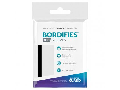 bordifies sleeves standard size