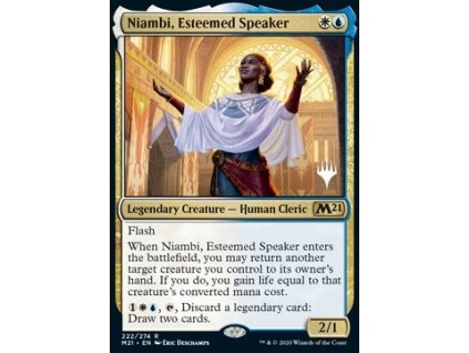 Niambi, Esteemed Speaker - PROMO