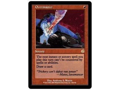 Overmaster (Foil NE, Stav Light Played)